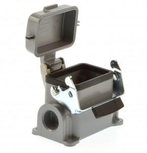 Weidmüller HDC-HB6-SDVL-2xPG16 Sockelgehäuse B6 mit Deckel