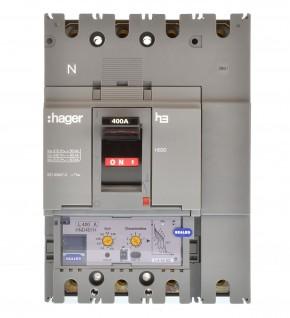 Hager HND401H Leistungsschalter 400A 4polig 334957