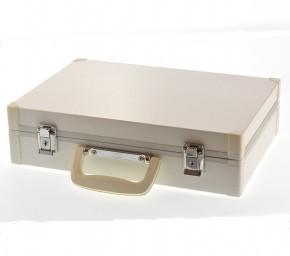 GSA Blechkoffer weiß 36,8x25,8x9,5cm 4144