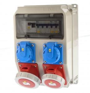 PCE 9036091 Stromverteiler 32A ip67 Wandverteiler