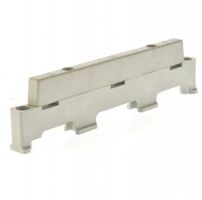 Wöhner 01118 Schienenträger 3 polig 66mm Schiene 15x3mm