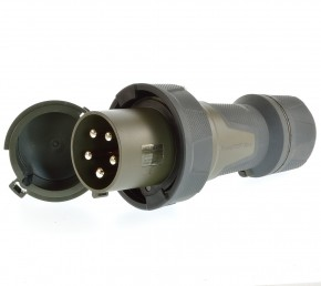 Mennekes 24970 CEE Stecker PowerTop Xtra 125A ip67 5 polig