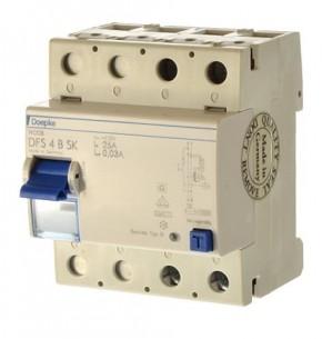 Doepke DFS 4B SK 25/0,03 Fi Schalter allstromsensitiv 2 polig Art.09124698 ean 40147121531