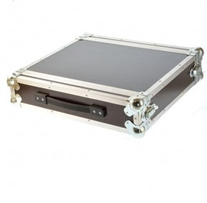 "DD Rack 2 He Flightcase 19"" Deckel 4cm / kein Import"