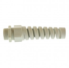 Kabelverschraubung M25 Lapp SKINTOP® BS-M 25x1,5 Ral 7035 Biegeschutz