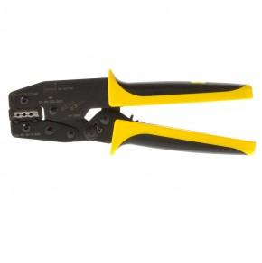 Harting Crimpzange 09990000021 .00 mit Positionierer E+D Griff gelb