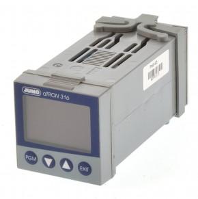 Jumo dTRON 316 Temperaturregler 703041/181-140-23/000