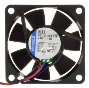 Papst 514F 24VDC Lüfter 39mA 0,9W 50x50x15mm