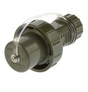 Mennekes 10829 Schuko Stecker TM ip68 mit Schutzkappe