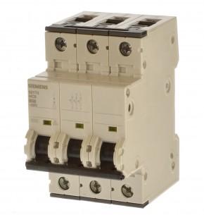 Siemens 5SY7350-6 Sicherungsautomat B50 3 polig 15KA