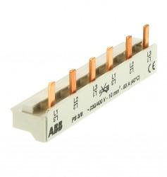 ABB PS3/6 Phasenschiene 10mm² Sammelschiene 3 phasig 2CDL231001R1006