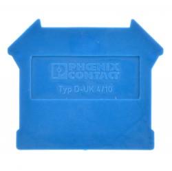 Phoenix Contact D-UK 4/10 BU Abschlussdeckel blau 3003101