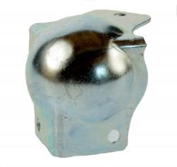 (Grundpreis 0,497€/Stk.) 4 Stück Kugelecke medium mit integriertem L-Winkel für Deckelhöhe 45mm