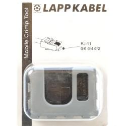 Lapp MCT Crimpbacken Pressbacken f. RJ11 62000126