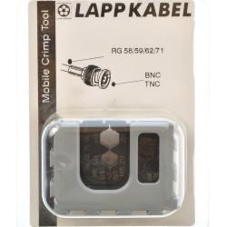 Lapp MCT Crimpbacken f. BNC RG 56 - 59 - 62 - 71 62000123