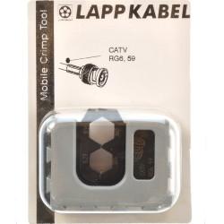 Lapp MCT Crimpbacken  BNC CATV RG6 - 59  62000124