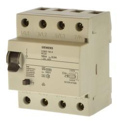 Siemens 5SM3745-6 Fi Schalter 125A 500mA 0,5A 4 polig