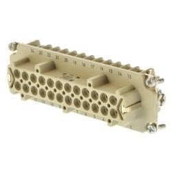Weidmüller HDC-HE-24BCM 25-48 Buchseneinsatz 24 polig für Crimpkontakte