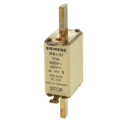 Siemens 3NE4122 NH Sicherung 125A 1000VAC