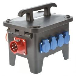 Stromverteiler M1 / 16A mit Fi Schalter Baustromverteiler