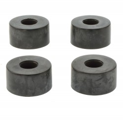 (Grundpreis 0,70€/Stk.) Vpe. 4 Stück Gummifuß 38x20mm