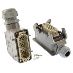 Harting Steckverbindung 40 polig mit Lötkontakten SVU-TSVU-29