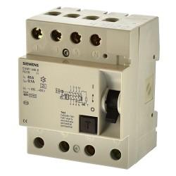Siemens 5SM1446-6 Fi Schalter 63A 100mA Fehlerstromschutzschalter