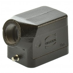 Harting Han 6M-gs-13,5 Tüllengehäuse schwarz 09370061540