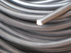 1m H07V-K Litze 10mm² schwarz Aderleitung Meterware
