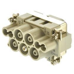 Harting HAN K 4/4-M 63A 6-16mm² Stifteinsatz 09380082601