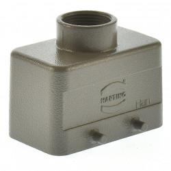 Harting Han 10B-gg-M25 Tüllengehäuse niedrig  09300101421