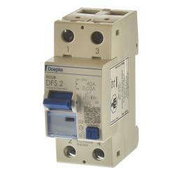 Doepke DFS 2 040-2/0,03-A Fi Schalter 2p 40A 0,03A 09134601