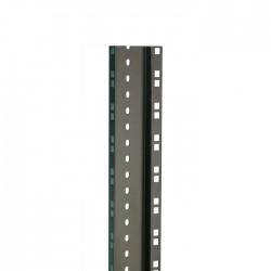 (Grundpreis 14,95€/m) 2 m Rackschiene HD doppelt schwarz 45 HE