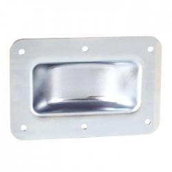 Stapelschale für Rollen Stapel-Einbauschale Stahl verzinkt