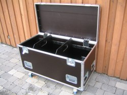 Flightcase Packmaß 120x60x60 Kabelcase