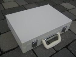 GSA Blechkoffer weiß Koffer 47x 34 x11,5 cm 5440