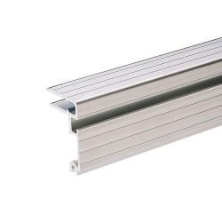 Deckelrahmen (mit Schließrinne) für 7 mm Holzstärke passt zu Hybridprofil 7mm