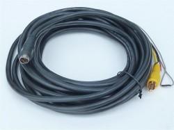 Waeco Anschlußkabel schwarz für RV29