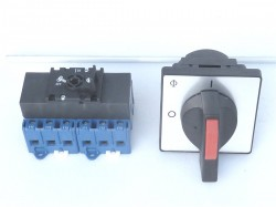 Kraus & Naimer KG41B.T106 / DA051.VE Hauptschalter Reparaturschalter 6 polig