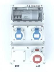Mennekes 933835 Amaxx  Stromverteiler ip67 16/2x230V