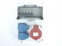Mennekes 97621 Stromverteiler16/5-2x230V K-Automat