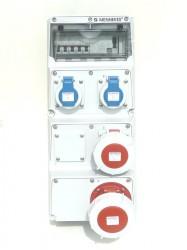 Mennekes 945503 Amaxx Stromverteiler ip67 Fi Schalter 63/0,03A allstromsensitiv