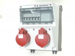 Mennekes 920017 Amaxx Stromverteiler ip44 2x16A