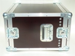 "DD Rack 8 He Flightcase 19"" Rack Amprack Deckel 4cm"