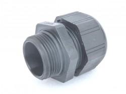 Kabelverschraubung M25 ECOTEC Klemmbereich 13-18 mm schwarz