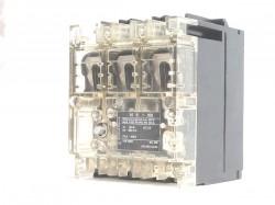 Moeller N6-100 ea Leistungstrenner Hauptschalter 3 polig 100A rückseitige Schaltachse