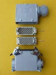 Weidmüller Steckverbindung 72 polig Set4 SVU1x29(hoch)-TSVU-M32 Lötkontakte