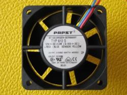 Papst 612 S 12Volt 2,5 Watt 60x60x25mm Sensor
