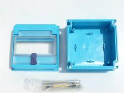 Marechal Anschlußkasten blau ip66 Abzweigdose mit Sichtfenster