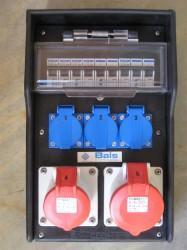 Bals 54036 Stromverteiler Wandverteiler Gummi 32-16-3x2